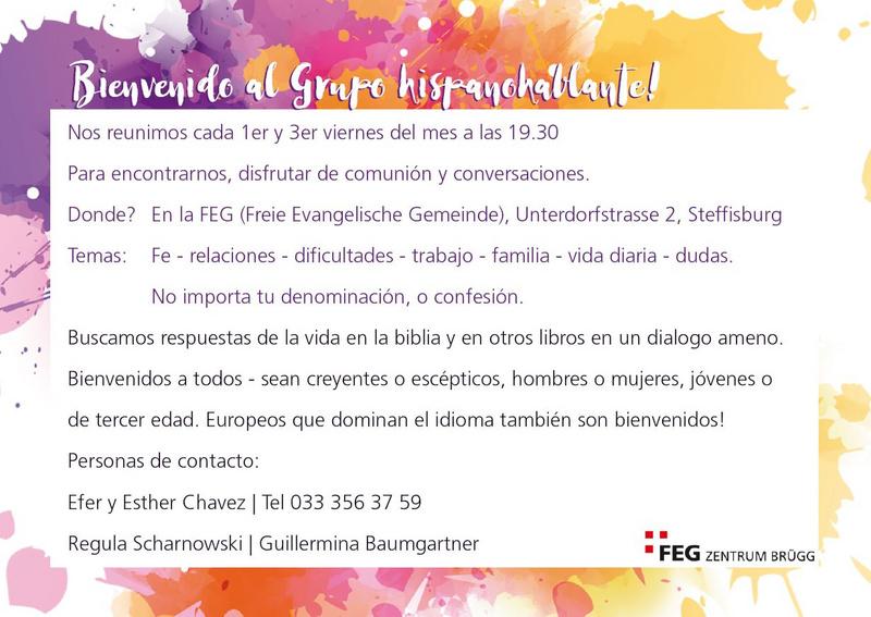 Spanisch Gruppe Website Der Feg Steffisburg